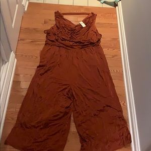 Anthropologie A+ enchantment jumpsuit 3x